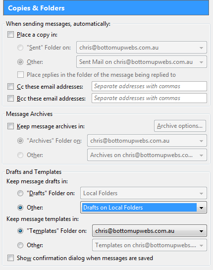 Mozilla Thunderbird and Google Apps / GMail Tips